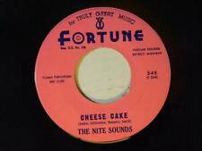 The Nite Sounds (inst.45) CHEESE CAKE / WITH TENDER PASSION~Fortune VG++ r+b r+r