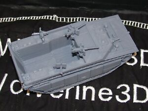 Flames Of War USA LVT-4 Landing Craft 1/100 15mm FREE SHIPPING