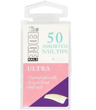 The Edge French White Nail Tips PKS of 50s Size 8