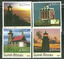 GUINEA BISSAU MNH LIGHTHOUSES [2003]