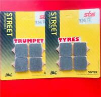 Ducati 749 Rad Cal 04 > ON SBS Front Brake Pads Fast Road Sinter Set OE QUALITY