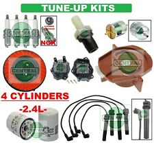 TUNE UP KITS 02-04 FRONTIER Xterra: SPARK PLUGS, WIRE SET, FILTERS, CAP & ROTOR