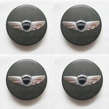 "Hyundai Motors Genuine Wheel Center Hub Cap 17"" Genesis Coupe 2008 2011 4pcs Set"