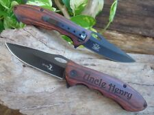 Personalized Knives, Engraved Pocket, Knives Groomsmen Gifts Hunting, Man 159