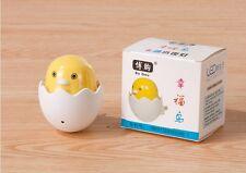 Cute Yellow Bird Baby Chick in Shell LED Nightlight Energy Saving Sensor Light