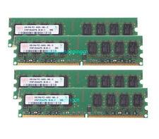 8 GB 8GB 4X 2GB 2 G DDR2 800MHz PC2-6400U 240PIN Desktop DIMM RAM Memory PC6400