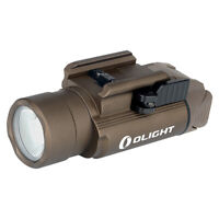 Olight PL PRO Valkyrie 1500 Lumen Rechargeable Pistol Flashlight (Desert Tan)