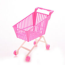1 X Shopping Trolleys for Barbie Girls Play House Dollhouse Furniture Pink MO