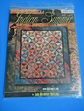 Judy Niemeyer foundation paper piecing quilt pattern INDIAN SUMMER