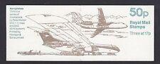 GB QEII FOLDED BOOKLET FB58 1991 AIRCRAFT SERIES BAe ATP CONCORDE