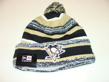 Pittsburgh Penguins Cap Hat NHL Hockey New Era Beanie Toque OSFM NE 14 Sport Pom