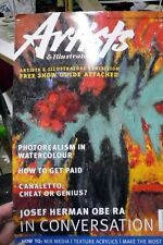Artist & illustrator magazine issue 143 August 1998