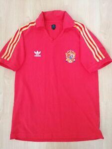 Spain National Team Retro Football Jersey L Adidas Originals Camiseta Trikot