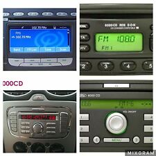 FAST SERVICE FORD V OR M  RADIO CODE UNLOCK PIN DECODE 6006 CDC 6000 SONY LS RNS