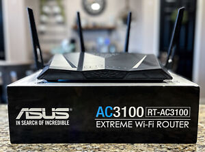 ASUS RT-AC3100 Dual-Band Wireless-AC3100 Extreme Gaming Gigabit Router