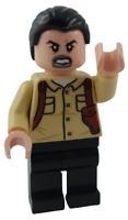 Lego Vic Hoskins Jurassic World Minifigur Legofigur Figur Minifig jw055 Neu