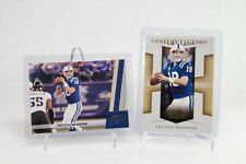 New listing (LOT 2) 2008 & 2011 THREADS PEYTON MANNING BASE & CENTURY LEGENDS CL-2 #66