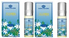 2 Jasmine 6ml in base al Rehab Best Seller Profumo/Attar/ittar 2x6ml
