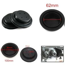 2X Rubber Housing Seal Cap Dust Cover For LED HID Headlight Retrofit Aftermarket