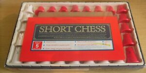 Vintage 1989 Short Chess Board Game Suitable For Children