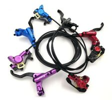 ZOOM MTB XC Bike Hydraulic Disc Brakes levers Calipers Front Rear Brake lever