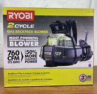 Ryobi RY38BPVNM 175 MPH 760 CFM 38cc 2 Cycle Gas Backpack Blower
