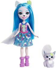 Enchantimals ~ Winsley Wolf Doll & Trooper Pet