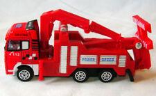 Coches, camiones y furgonetas de automodelismo y aeromodelismo excavadoras rojos