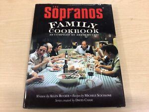 """The """"Sopranos"""" Family Cookbook, Allen Rucker, Michele Scicolone, Very Good Book"""