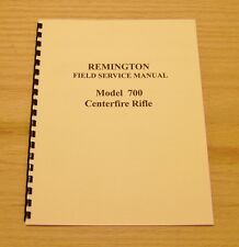 Remington Model 700 Gunsmith Manual - #18