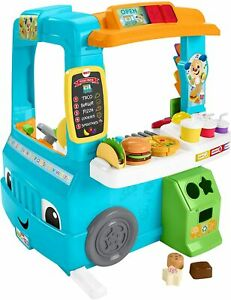 Fisher-Price Laugh & Learn Servin' Up Fun Food Truck, Musical Role Play Toy
