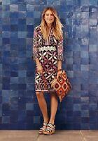 1b626ee228d Tory Burch Ellie Silk Print Tunic Dress Cruise Resort Bohemian Floral S Size  4