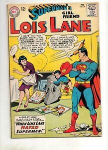Superman's Girlfriend Lois Lane #39 Higher Grade VF/VF- 7.5/8.0 DC 1962 GLOSSY