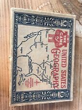The Game Of United States Geography Card Game Parker Brothers Used Vintage