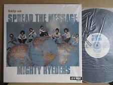 MIGHTY RYEDERS SPREAD THE MESSAGE / IN SHRINK REISSUE NM MINT- SUPERB COPY  COND