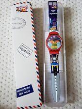 NIB RARE Swatch GREETINGS FROM BANGKOK Tuk Tuk Limited Destination Watch SUOZ284