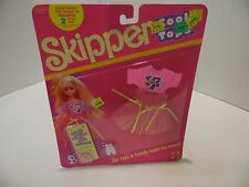 Vintage 1989 Skipper Cool Tops Fashions Barbie 9089 NEW