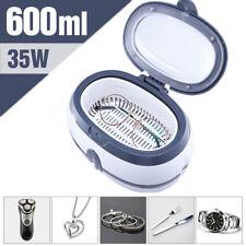 600ml Digital Brille Ultraschall Reiniger Uhr Schmuck Reinigung Ultraschallgerät