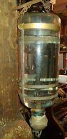 Antique hanging Glass Fire Extinguisher Sprinkler