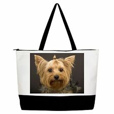 Yorkshire Terrier Yorkie Handbag Purse Tote Shopper Shoulder Bag