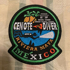 New listing Cenote Diver Embroidered Patch Scuba Diving