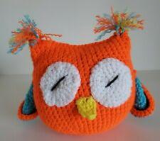 Handmade Colorful Crochet Amigurumi Stuffed Owl