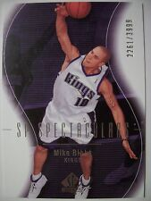 2003-04 SP AUTHENTIC MIKE BIBBY # 122 , KINGS !!! BOX # 33