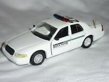 Road champs Upland police Crown Victoria métalliques voiture 1:43 C. 1999