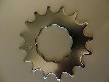 """Redline Singola Velocità / BMX INGRANAGGIO ACCIAIO 16 Denti 3/32 """"NUOVO RRP £ 10 (168)"""