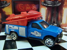 '12 MATCHBOX FORD F-SERIES TRUCK WITH RAFT LOOSE 1:64 SCALE