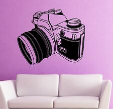 Wall Stickers Vinyl Decal Camera Photo Art Excellent Room Decor (ig1807)