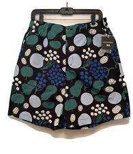NWT Uniqlo x Marimekko Black Cotton Poplin Shorts US / XXLarge