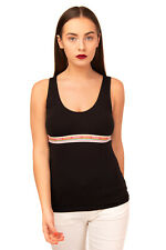 D&G DOLCE & GABBANA UNDERWEAR Nightwear Vest Size 4 / XL Stretch Scoop Neck
