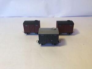 009/ Hoe Egger Bahn Box Vans X3